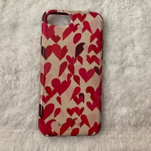Kate Spade iPhone 7/8 case - good condition
